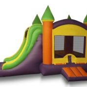 Bounce House w/slide Dry